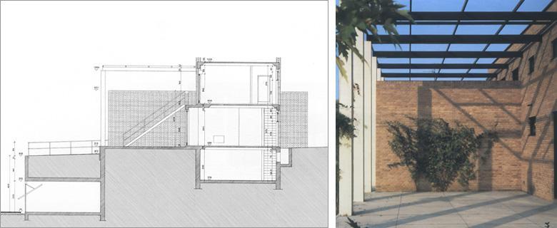 Paolo rizzatto abitazioni private for Case architettura